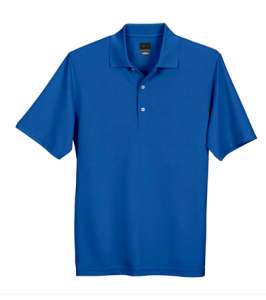 Greg Norman cobalt men's polo